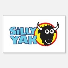 Silly Yak Shirt Co. Rectangle Decal