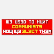 Hunt Commies: Sticker (Bumper)
