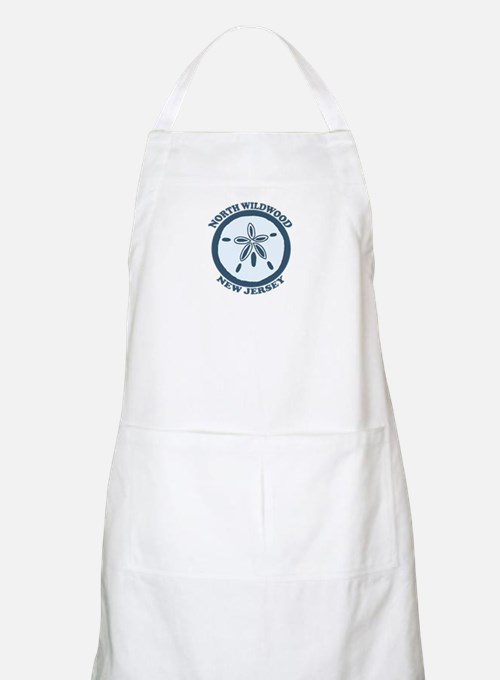 Wildwood NJ - Sand Dollar Design Apron