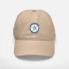 Wildwood NJ - Sand Dollar Design Baseball Baseball Cap