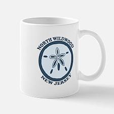 Wildwood NJ - Sand Dollar Design Mug