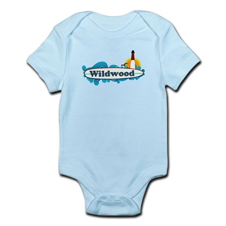 Wildwood NJ - Surf Design Infant Bodysuit
