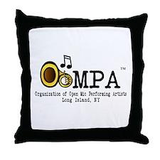 OOMPA Throw Pillow