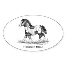 Miniature Horse Foal Decal