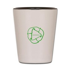 Green Sites Network Shot Glass
