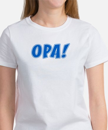 Opa Greek Shirt Women's T-Shirt