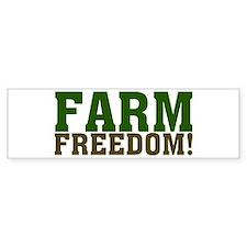 Farm Freedom! Bumper Sticker