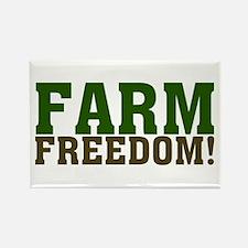 Farm Freedom! Rectangle Magnet