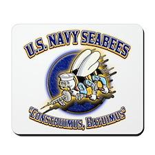 US Navy Seabees Mousepad