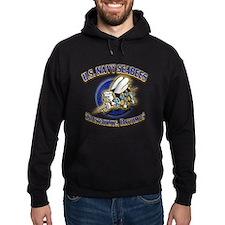 US Navy Seabees Hoodie