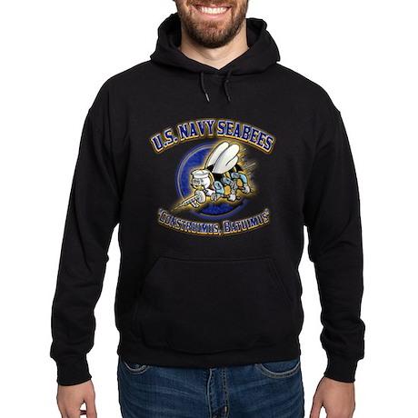 US Navy Seabees Hoodie (dark)