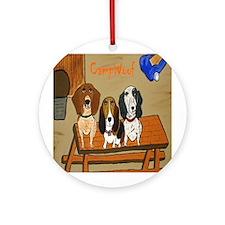 GoGo, Harold and Smokey Ornament (Round)