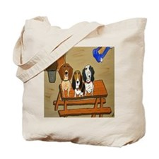 GoGo, Harold and Smokey Tote Bag
