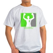 Lymphoma Male Survivor T-Shirt