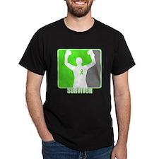 Lymphoma Male Survivor T-Shirt