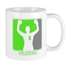 Lymphoma Male Survivor Mug