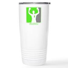 Lymphoma Male Survivor Travel Mug