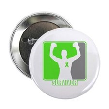 "Lymphoma Male Survivor 2.25"" Button"
