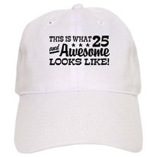 Funny 25th Birthday Baseball Cap
