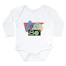 Cafe 80s Long Sleeve Infant Bodysuit