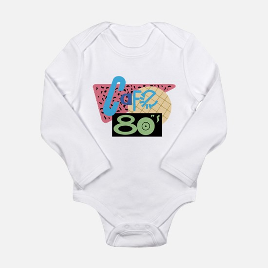 Cafe 80s Long Sleeve Infant Bodysuit