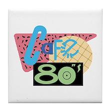 Cafe 80s Tile Coaster