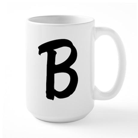 Letter B Large Mug