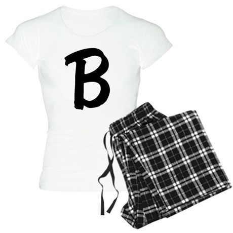 Letter B Women's Light Pajamas