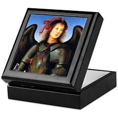 The Archangel, Saint Michael Keepsake Box