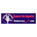 Regime Change Bumper Sticker
