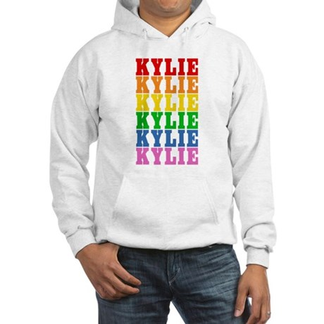 Rainbow Name Hooded Sweatshirt