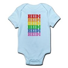 Rainbow Name Onesie