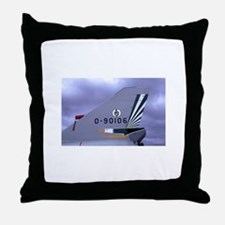 106 Tailflash Throw Pillow