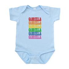Rainbow Name Infant Bodysuit