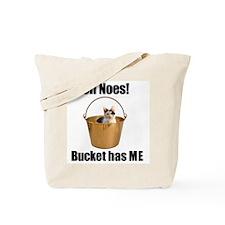 Bucket cat Tote Bag