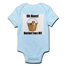 Bucket cat Infant Bodysuit