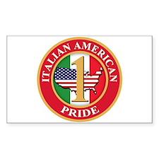 Italian american Pride Decal