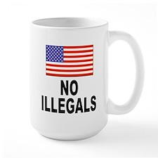 No Illegals Immigration Mug