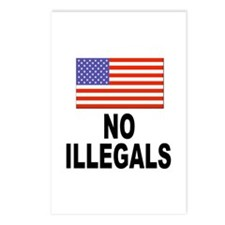 No Illegals Immigration Postcards (Package of 8)