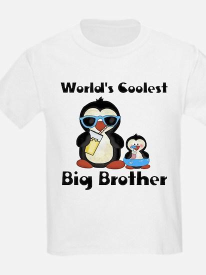 Coolest big brother penguin T-Shirt