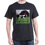 Cow Country Black T-Shirt