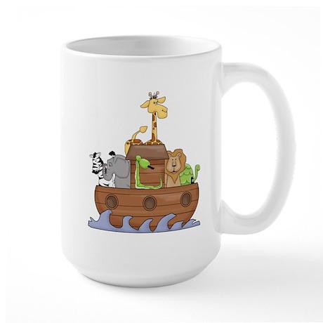noah's ark Large Mug