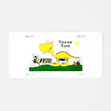 Texas Tom! Aluminum License Plate