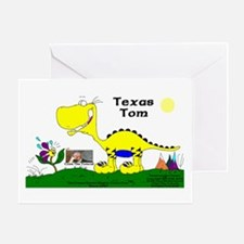 Texas Tom! Greeting Card