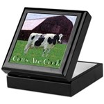 Cow Country Keepsake Box