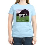 Cow Country Women's Pink T-Shirt
