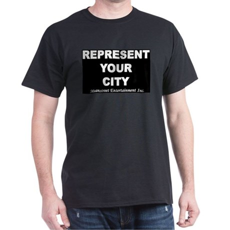 Represent your city Black T-Shirt