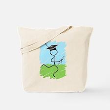 Graduate Runner Grass Tote Bag