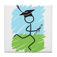 Graduate Runner Grass Tile Coaster