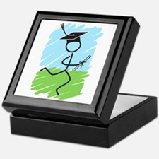 Graduate Runner Grass Keepsake Box